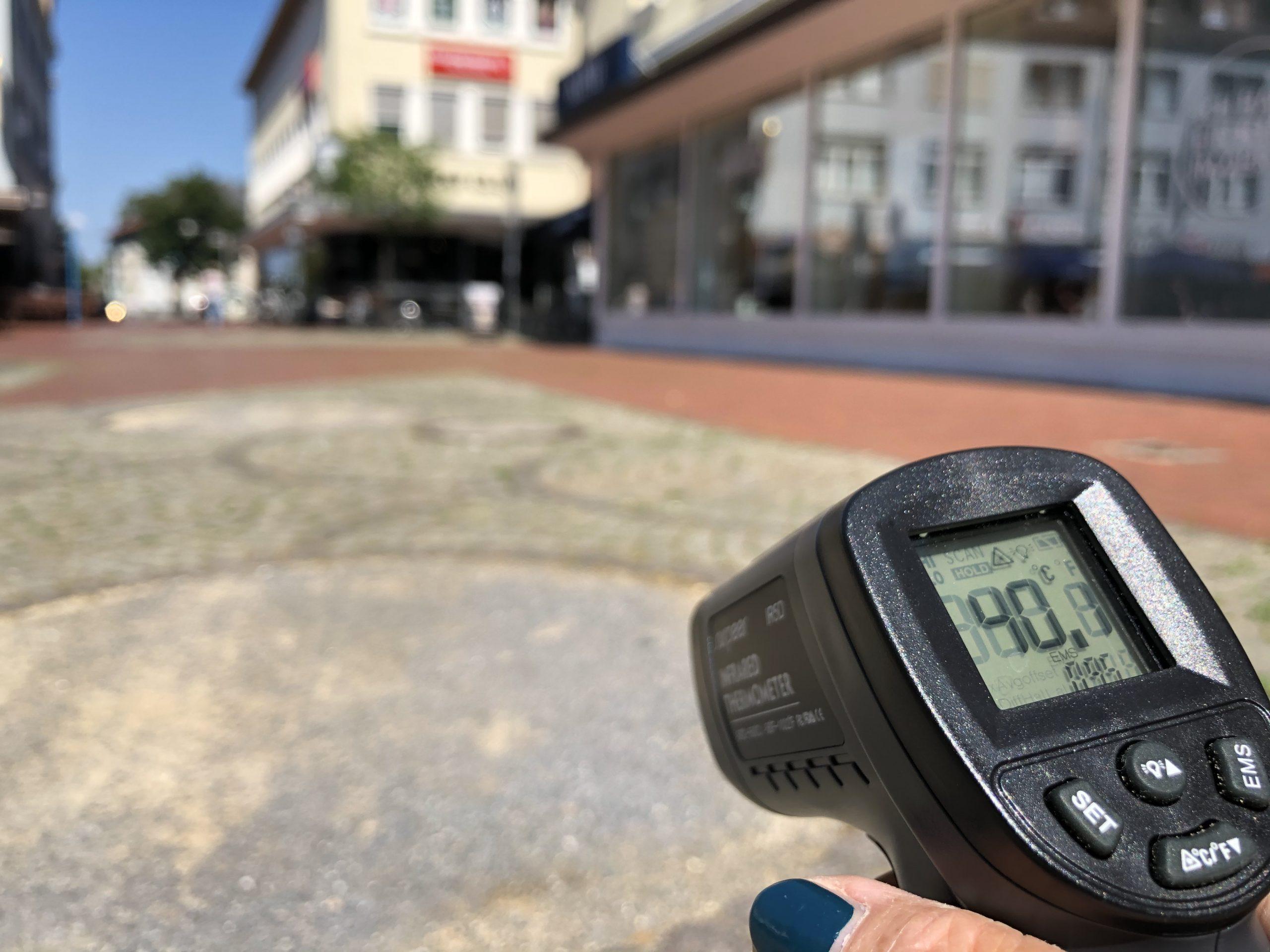13.08.2020 – Mehr Grün gegen die Hitze