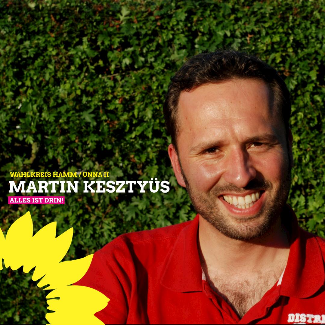Martin Kesztyüs als Direktkandidat für die Bundestagswahl digital nominiert
