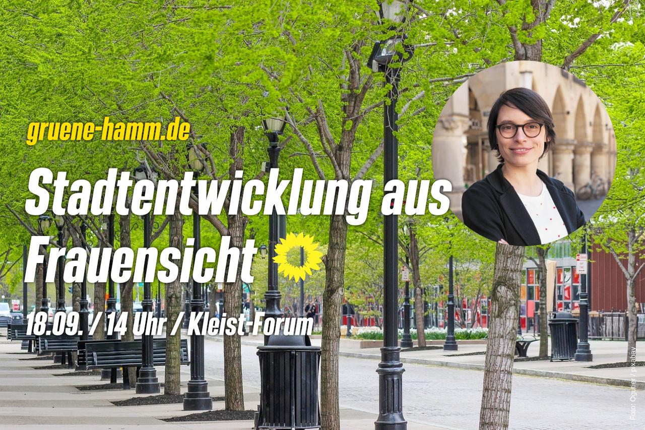 Stadtentwicklung aus Frauensicht (mit Josefine Paul)